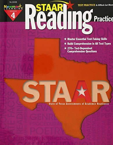 STAAR Reading Practice Grade 4 by Multiple Authors (2014-10-02)