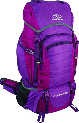 Highlander Expedition 60W Purple Backpack, violett, 63 x 33 x 5 cm -