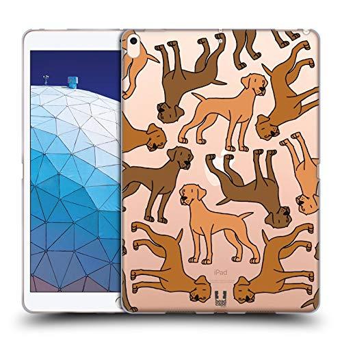 Head Case Designs Vizslas Hunderasse Muster 3 Soft Gel Huelle kompatibel mit iPad Air (2019) (Viz Air)