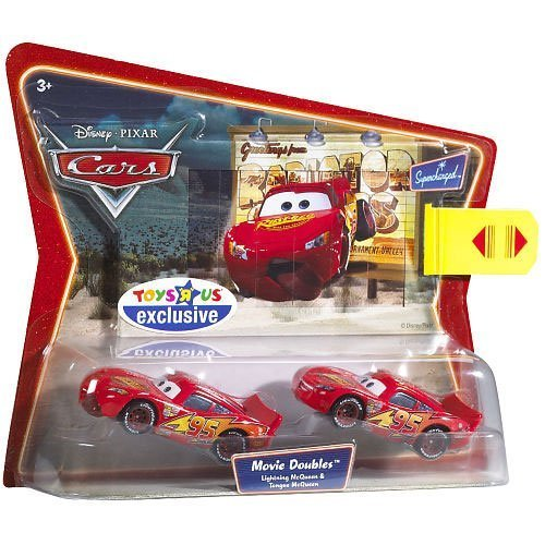 Disney Pixar Cars 2 Pack McQueen & Tongue McQueen by Mattel