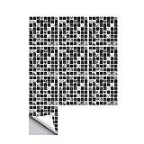 Decdeal Fliesenaufkleber Mosaikfliesen Selbstklebend Abnehmbar DIY Küche Badezimmer Wandaufkleber Hochauflösende Bilder für Fliesen, Keramik, Glas, Metall(10 Stück,15 x 15 cm)