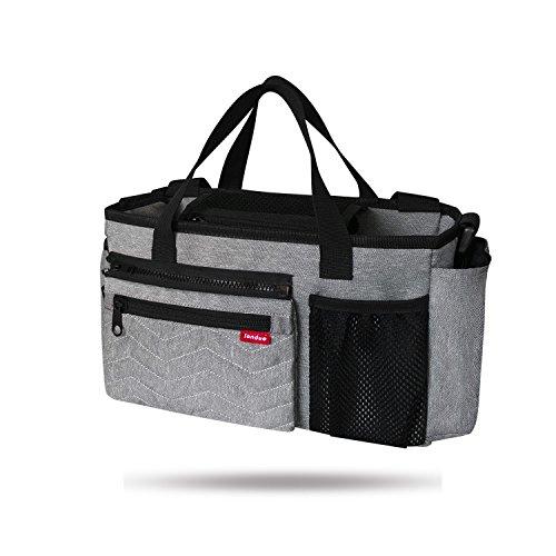 schen Multifunktions-Organizer Large Kapazität 4. Tote Cross-Body-Windel Handtasche für Mom & Dad ()