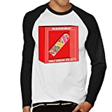 Cloud City 7 Back to The Future Hoverboard Break In 2015 Men's Baseball Long Sleeved T-Shirt