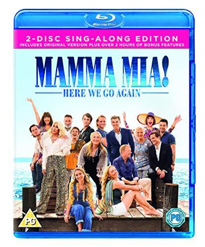 Mamma Mia! Here We Go Again Blu-ray + [2018] [Region Free]