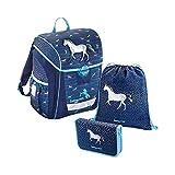 baggymax Schulranzen-Set Trikky 3-tlg. Modern Horse bm modern horse