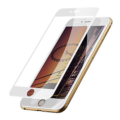 [2 Stück] Panzerglas Schutzfolie für iPhone 7/8+Free 360° Phone Ring Stand Holder,IOOI 9H Härte Anti-Kratzen 3D Touch Kompatibel Displayschutzfolie für iPhone 7/8