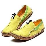 Blivener Women Casual Suede Penny Loafer Slip-on Walking Shoes
