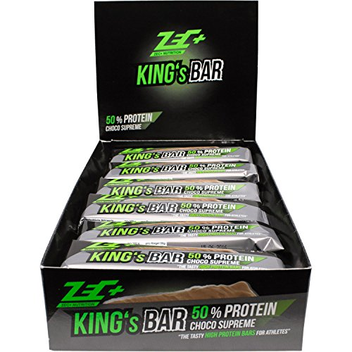 ZEC+ Proteinriegel KING'S BAR 50% PROTEIN Geschmack CHOCO SUPREME 24er Box 1200g
