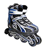 Atipick PAT61010 Set protecciones patinaje junior (negro)