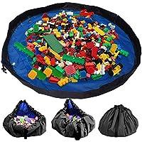 Aufbewahrung Netz f/ür Kuscheltiere H/ängetasche f/ür Kinder und Kleinkinder Spielzeug Veranstalter Storage Net Blau Yuccer Spielzeug H/ängematte