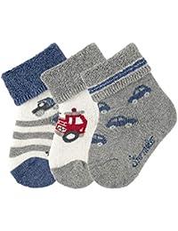 Sterntaler Baby - Jungen Socken Baby-söckchen 3er-pack Fahrz.