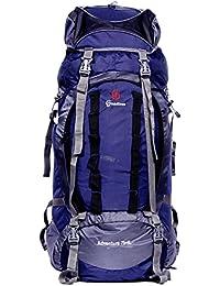 Grandiose 75L Front Open Model Navy Blue Hiking Trekking Camping Rucksack Bags (GTB67502NB)