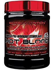 Scitec Nutrition Hot Blood 3.0 Orange Juice, 1er Pack (1 x 300 g)