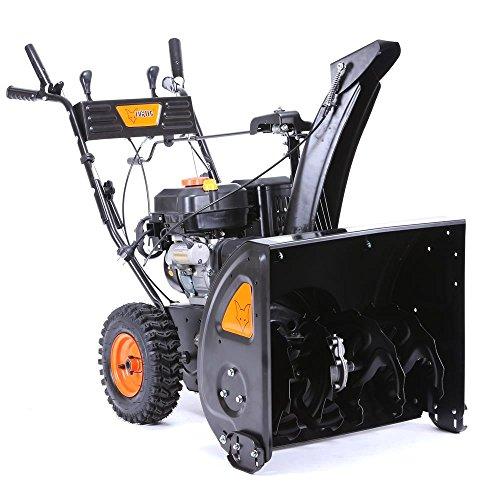 FUXTEC Benzin Schneefräse SF210 7,5 PS 230 Volt E-Starter Schneeräumgeräte - 7