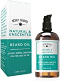 Beard Oil - Conditions, Softens and Soothes - Large 100ml bottle - 100% Natural Oils for a healthy and itch-free beard - Fragrance Free - Made in the UK
