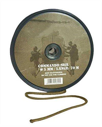 - G8DS® Allzweck Commando Seil COYOTE 5MM (70M ROLLE) Outdoor