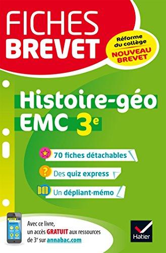 Histoire géographie, Enseignement moral et civique 3e par From Hatier