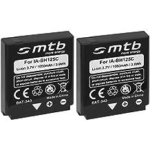 2x Batterie IA-BH125C per Samsung / Pentax D-Li106 / Ricoh DB-65 / Sigma BP-41... v. lista!