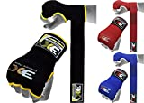 3X Sports Gel Mitts Hand Wraps Grappling Handschuhe Kampfsport Boxen UFC Bandage Bild