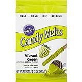 Wilton Candy Melts Vibrant grün, 1er Pack (1 x 340