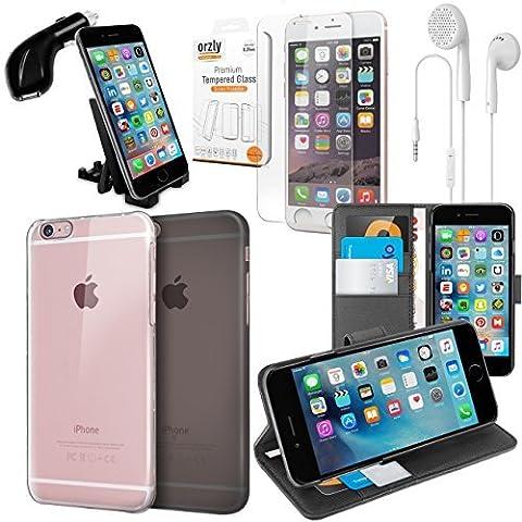 iPhone 6S Plus Zubehörpak - Orzly® Schutzhülle & Zubehör Bundle Pack für Apple iPhone 6 Plus (2014) & iPhone 6S Plus (2015)