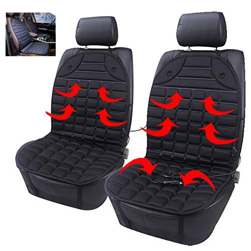 Beheiztes Sitzkissen Winter-Autositz-Wärmeabdeckung, 12V Beheiztes Autositzkissen Premium-Qualität, Einstellbare Temperatur, Heizkissen