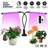 LED Plant Lights for Indoor Plants,20W Plant Grow Lamps,40 LED Lamp Beads,Dimmable 6