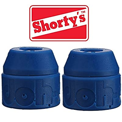 Shorty's Blue Doh-Doh Bushings 88a soft (2 sets) For Skateboards & Longboards by Shorty's