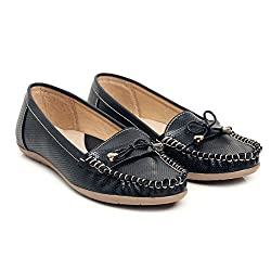 Bare Soles trendy loafers_41