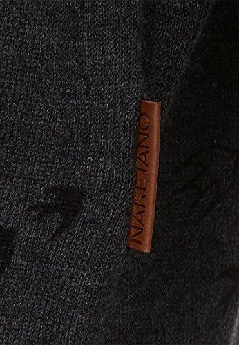 Naketano Female Knit Maja will vögel(n) Anthracite Melange