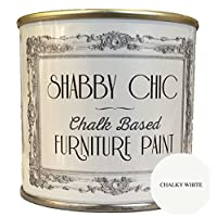 Chalky White Furniture Paint great for creating a shabby chic style. 1 litre