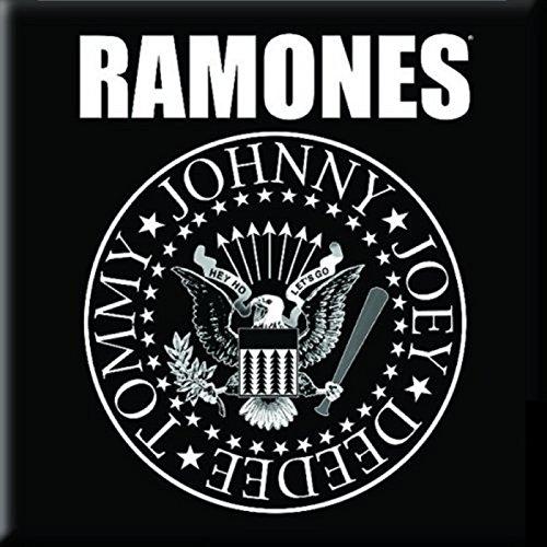 (Ramones Kühlschrankmagnet Presidential Seal band logo Nue offiziell 76mm x 76mm)