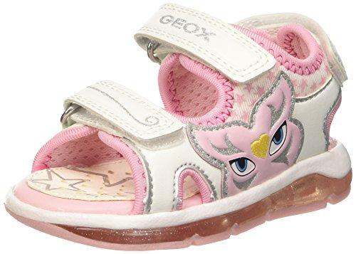 Geox B Sandal Todo Girl A, Scarpe Primi Passi Bimba, Bianco (WHITEC1000), 27 EU