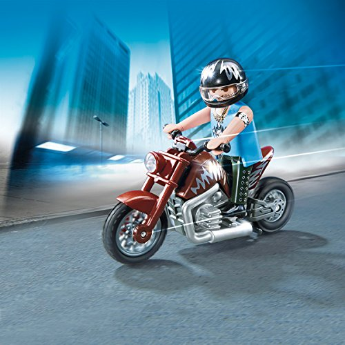 Playmobil Polyfect Toys Muscle Bike