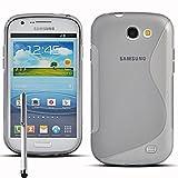 Samsung Galaxy Express I8730 Étui HCN PHONE S-Line TPU Gel Silicone Coque souple pour Samsung Galaxy Express I8730 + stylet - TRANSPARENT