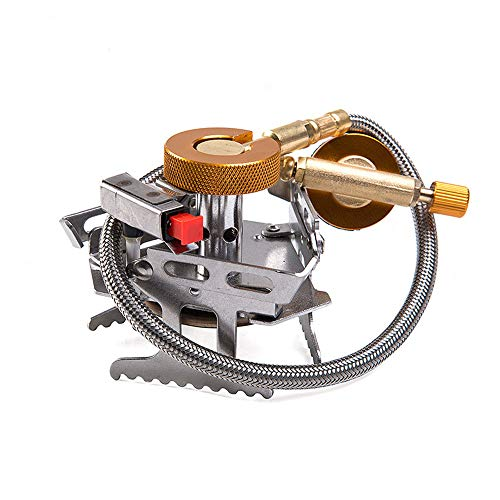 LXB Heller kampierender Gasherd, hohe thermische Leistungsfähigkeits-elektronische Zündvorrichtung-Brenner-Platten-Entwurfs-Stützstabile Sicherheits-faltende Lagerung -