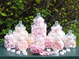 Plastic Jar party pack-12Assorted Jars