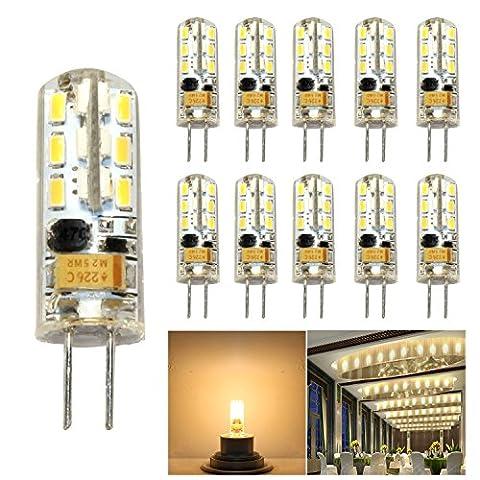 hibay Ampoules Capsule LED G42W LED en silicone lumineux blanc