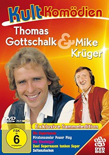 Kultkomödien mit Thomas Gottschalk & Mike Krüger - 5DVD-Sammeledition (Die Supernasen, Piratensender Powerplay, Die Einsteiger,