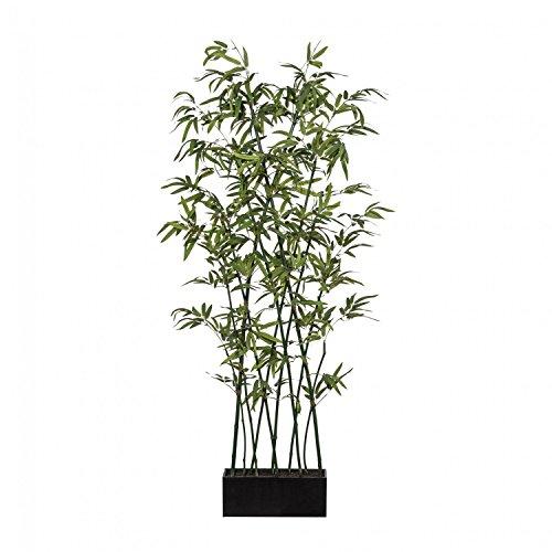 Bambusraumteiler 'Cross' Kunstpflanze 210 cm mit Naturstamm