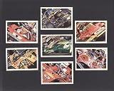 Racing Legends (Formel 1) (XL Serie)–Michael Schumacher, Damon Hill, Gilles Villeneuve, Niki Lauda, Ronnie Peterson, Jochen Rindt, Jim Clark–Sammler Karten