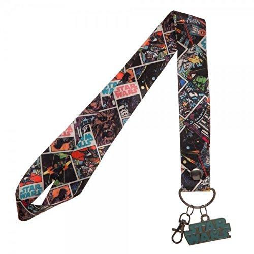 akter breit Trading Pin Lanyard ID Halter mit Metall Charme ()