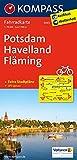 Potsdam - Havelland - Fläming: Fahrradkarte. GPS-genau. 1:70000 (KOMPASS-Fahrradkarten Deutschland, Band 3043)