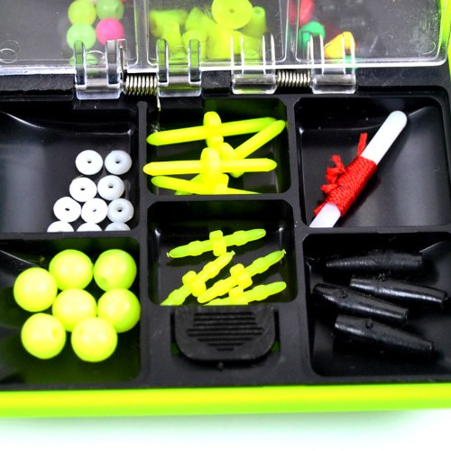 THKFISH Fishing Tackle Box Utility Box Haken Wirbels Angel-Zubehör-Box - 3