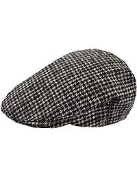 bc66222941b7e Amazon.co.uk  Black - Flat Caps   Hats   Caps  Clothing