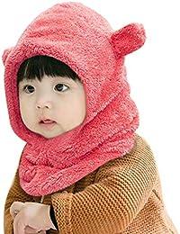 78f61268c54a Enfant Cagoule Bébé Garçon Fille Cache Oreilles Capuche Animaux Hiver  Cadeaux d anniversaire Mignon Chapeau Noël bébé Bonnet Toque…