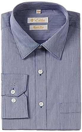 Elitus Men's Formal Shirt (8907002485885_251848751_Navy_44_LS _44_Navy)