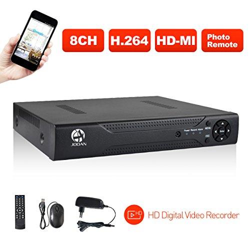 JOOAN 8-kanal H.264 D1 Sicherheit CCTV DVR Rekorder Kabel-Receiver videoüberwachung Aufzeichnungsger P2P Cloud Service
