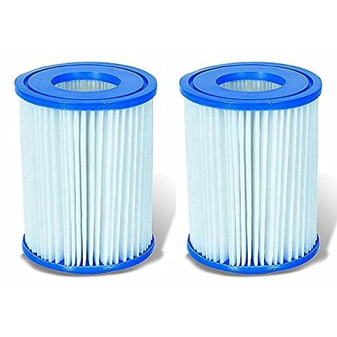 2 Cartouches de Filtration Bestway pour filtre piscine - Bestway Type II