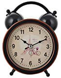 #7: 7Days Aapka Bazar Retro Round Shape Table Top Analog Twin Bell 4